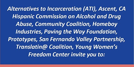 Alternatives to Incarceration - Community Check-In Series tickets