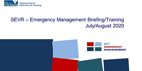 IGA - School EMP Briefing - Thursday, 6 August 2020 4:00 PM-6:00 PM tickets
