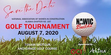 NAWIC Golf Tournament tickets