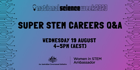 Super STEM Careers Q&A tickets