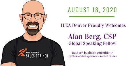 Virtual Event With Alan Berg- Top Down Selling for a Better Bottom Line tickets