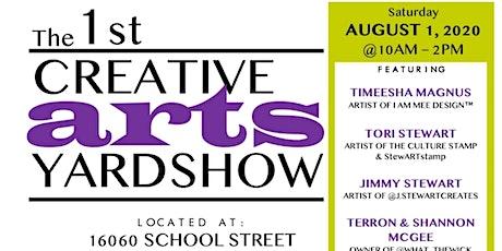 The 1st Creative Arts Yardshow tickets