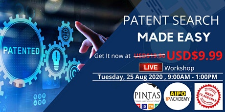 Patent Search Made Easy tickets