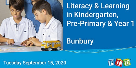 Literacy in Learning in Kindy, Pre-Primary and Year 1 (Bunbury) tickets