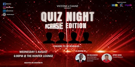 CAANZxVicCom Presents Quiz Night: The Chase Edition tickets