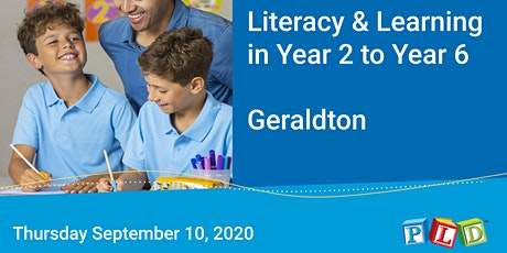 Literacy in Learning in Year 2 to Year 6 (Geraldton) tickets