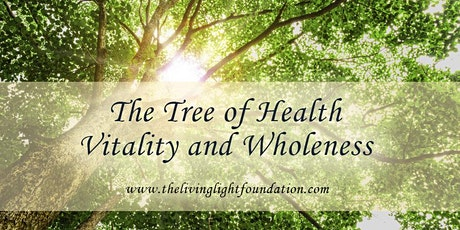 The Tree of Health, Vitality & Wholeness! Week #7 Monday Class - Chesed tickets