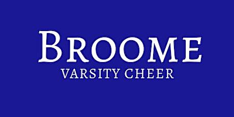 Broome Varsity Cheerleading Willy Taco Fundraiser tickets