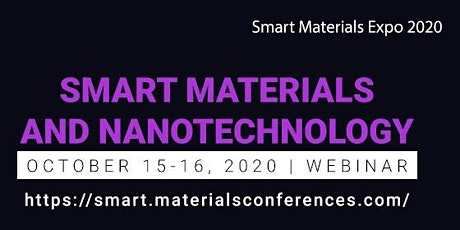 3rd Global Conference on Smart Materials and Nanotechnology tickets