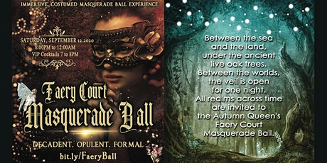 Faery Court Masquerade Ball 2020 tickets