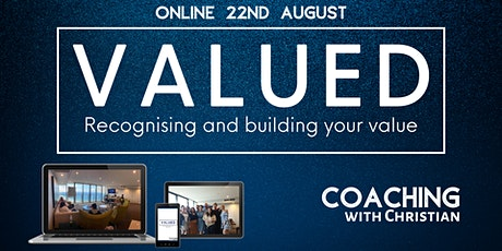 Valued - Building & Recognising your Value tickets