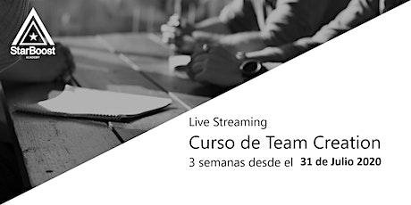 Curso de Team Creation: encuentra socios para tu empresa! entradas