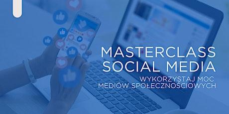 Masterclass social media - Wykorzystaj MOC mediów społecznościowych tickets