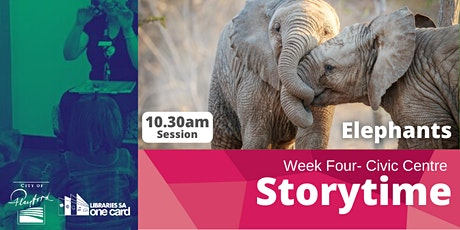 Storytime: Week Four - 10.30am tickets