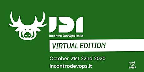 IDI: Incontro DevOps Italia 2020 - Virtual Edition biglietti