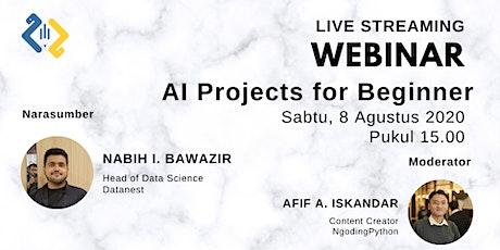 Webinar - AI Projects for Beginner tickets