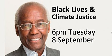 Black Lives and Climate Justice: Prof Sir Geoff Palmer 6-8pm Tues 8 Sept tickets