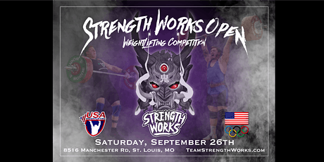 STRENGTH WORKS OPEN WEIGHTLIFTING COMPETITION tickets