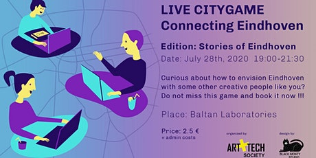 Live City Game -  Connecting Eindhoven (edition Stories of Eindhoven) tickets