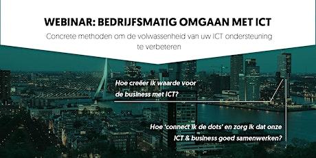 Webinar: Bedrijfsmatig omgaan met ICT tickets