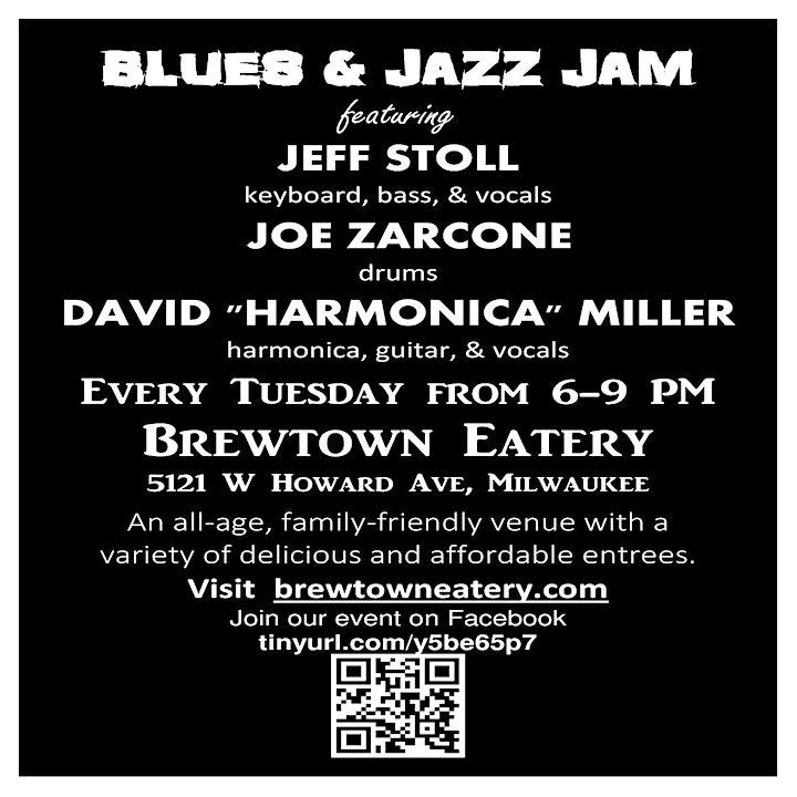 Blues and Jazz Experience Jam image