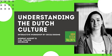 Interactive Workshop: Understanding the Dutch Culture tickets