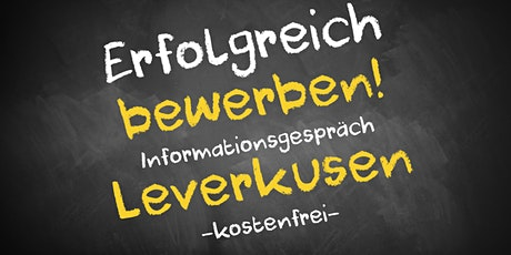 Bewerbungscoaching Online kostenfrei - Infos - AVGS Leverkusen Tickets