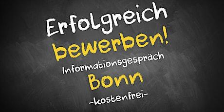 Bewerbungscoaching Online kostenfrei - Infos - AVGS Bonn Tickets