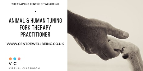 Animal & Human Certification in Tuning Fork Therapy - Virtual Classroom tickets