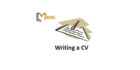 Writing a CV 1 Day Virtual Live Training in Boston, MA tickets
