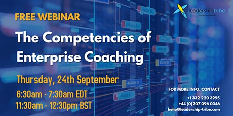The Competencies of Enterprise Coaching tickets