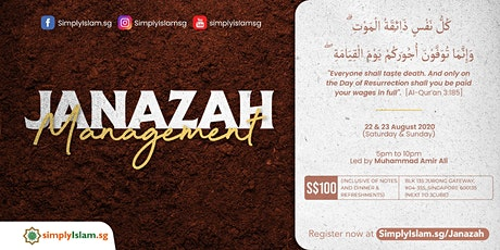 Janazah Management Course @ Jurong (2-Days) tickets