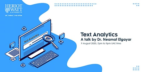 MACS Summer Professional Talk: Text Analytics tickets