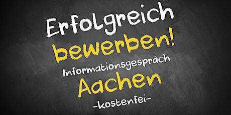Bewerbungscoaching Online kostenfrei - Infos - AVGS Aachen Tickets