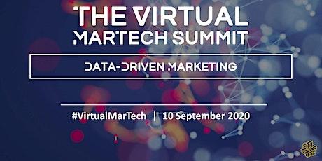 The Virtual Martech Summit: Data-Driven Marketing tickets