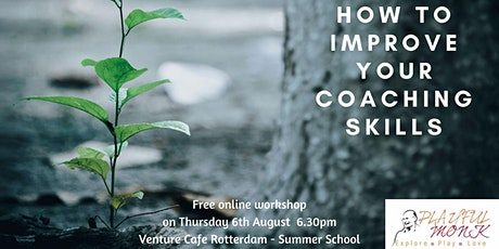 How to Improve your coaching skills - The PlayfulMonk way. tickets