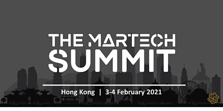 The MarTech Summit Hong Kong tickets