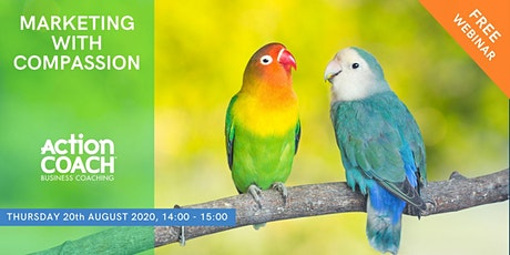Marketing with Compassion Webinar tickets