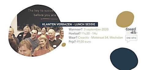 Lunchsessie - Verbaas je klanten keer op keer! tickets