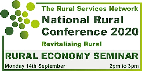 National Rural Conference 2020 - Rural Economy Day tickets