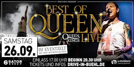 Queen Kings - Queen Tribute Show LIVE! (im Eventzelt) billets