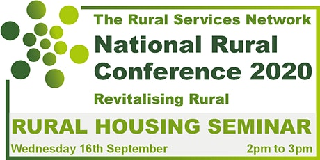 National Rural Conference 2020 - Rural Housing Day tickets
