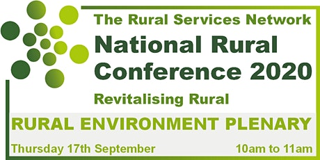 Rural Conference 2020 - Rural Environment Day tickets