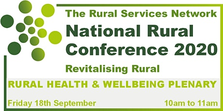National Rural Conference 2020 - Rural Health & Wellbeing Day tickets