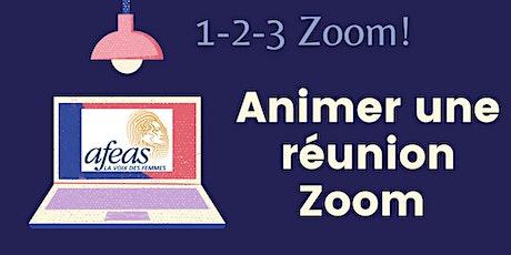 Ateliers 1-2-3-Zoom! Partie 2: Animer une réunion Zoom tickets