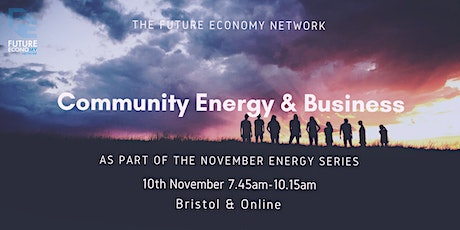 Community Energy and Business (Energy Series Part 2) tickets