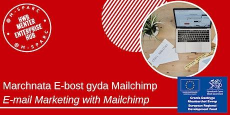 Covid 19: Marchnata E-bost gyda Mailchimp / E-mail Marketing with Mailchimp tickets