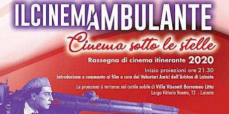 Il Cinemambulante in Villa Litta   Le Metamorfosi biglietti