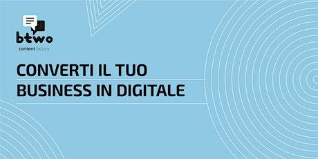 Converti il tuo business con il digital biglietti