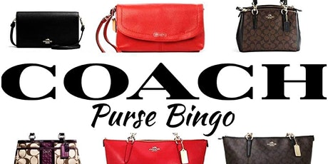 COACH Purse Bingo tickets